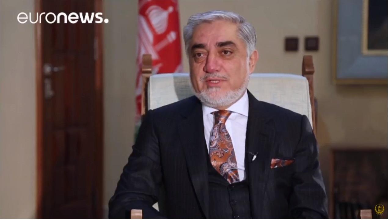 مصاحبه دکتور عبدالله عبدالله با شبکه یورونیوز فارسی پیرامون وضعیت سیاسی و جاری کشور