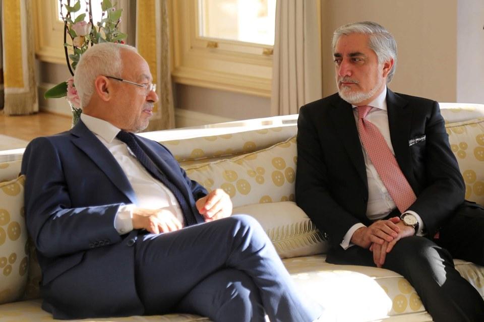 ملاقات با جناب راشد الغنوشی، رهبر نهضت اسلامی تونس