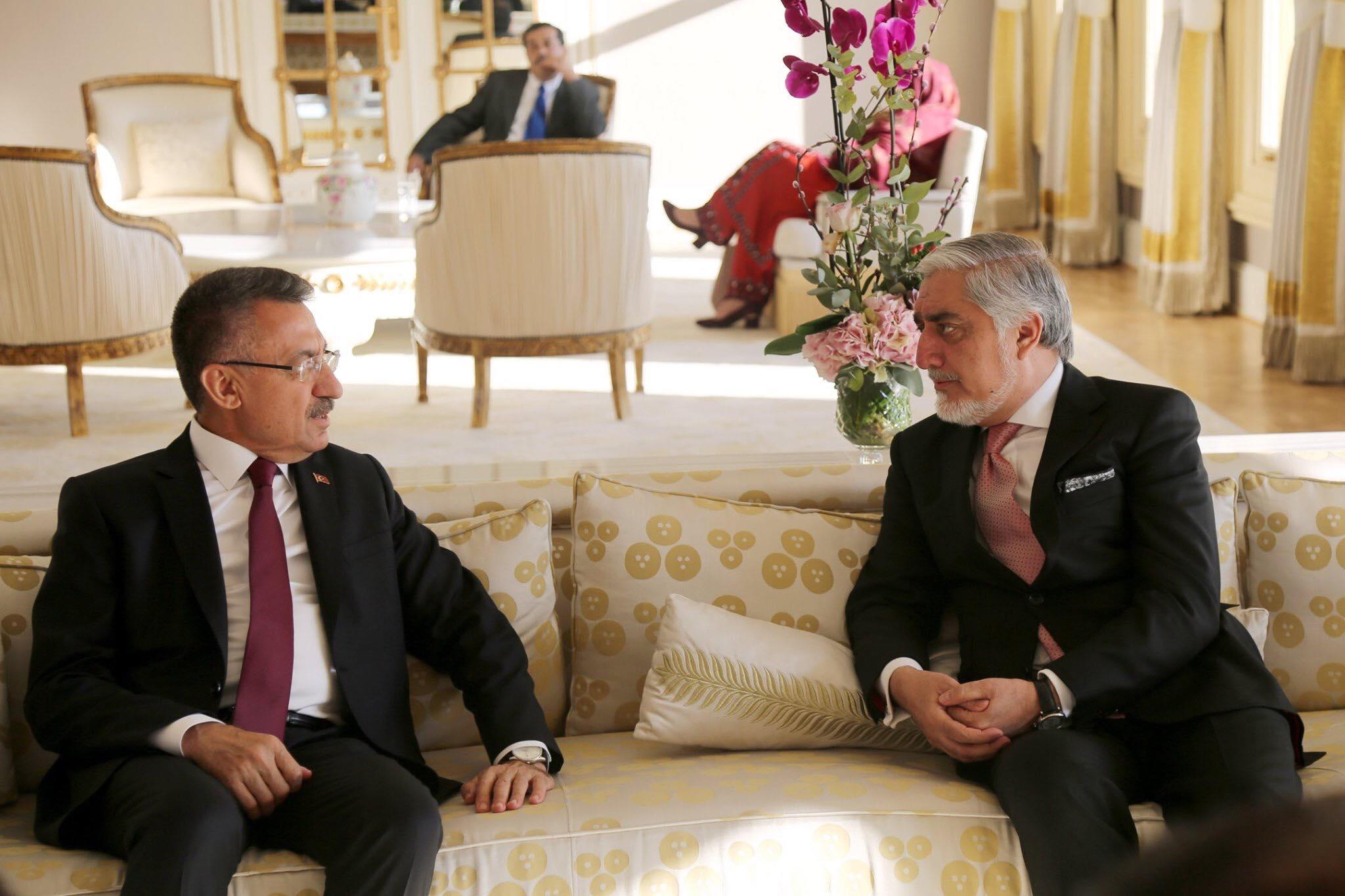 ملاقات با جلالتمآب فوات اوکتای، معاون رئیس جمهور ترکیه