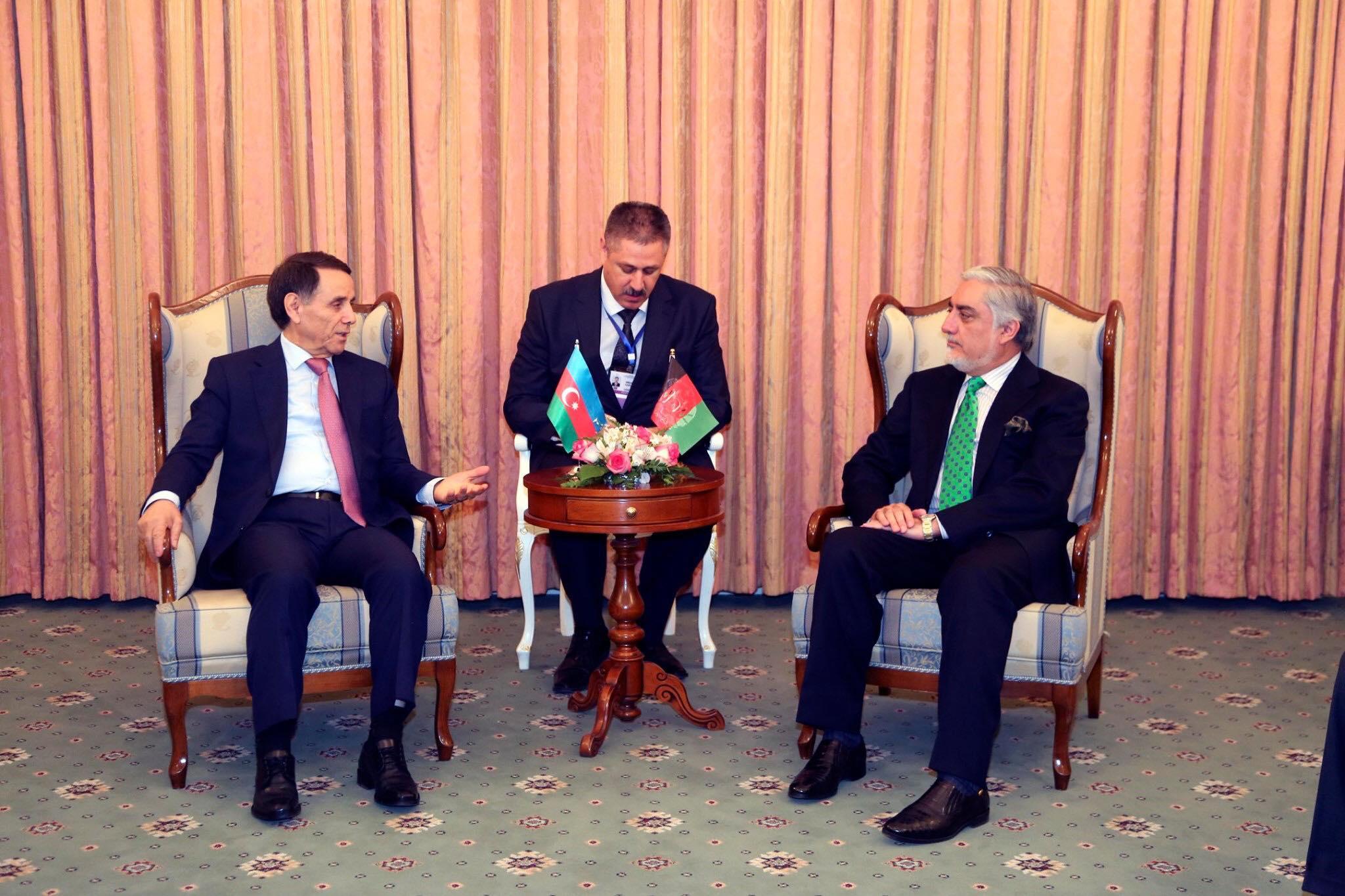 ملاقات با جلالتمآب نوروز محمودوف، صدراعظم جمهوری آذربایجان