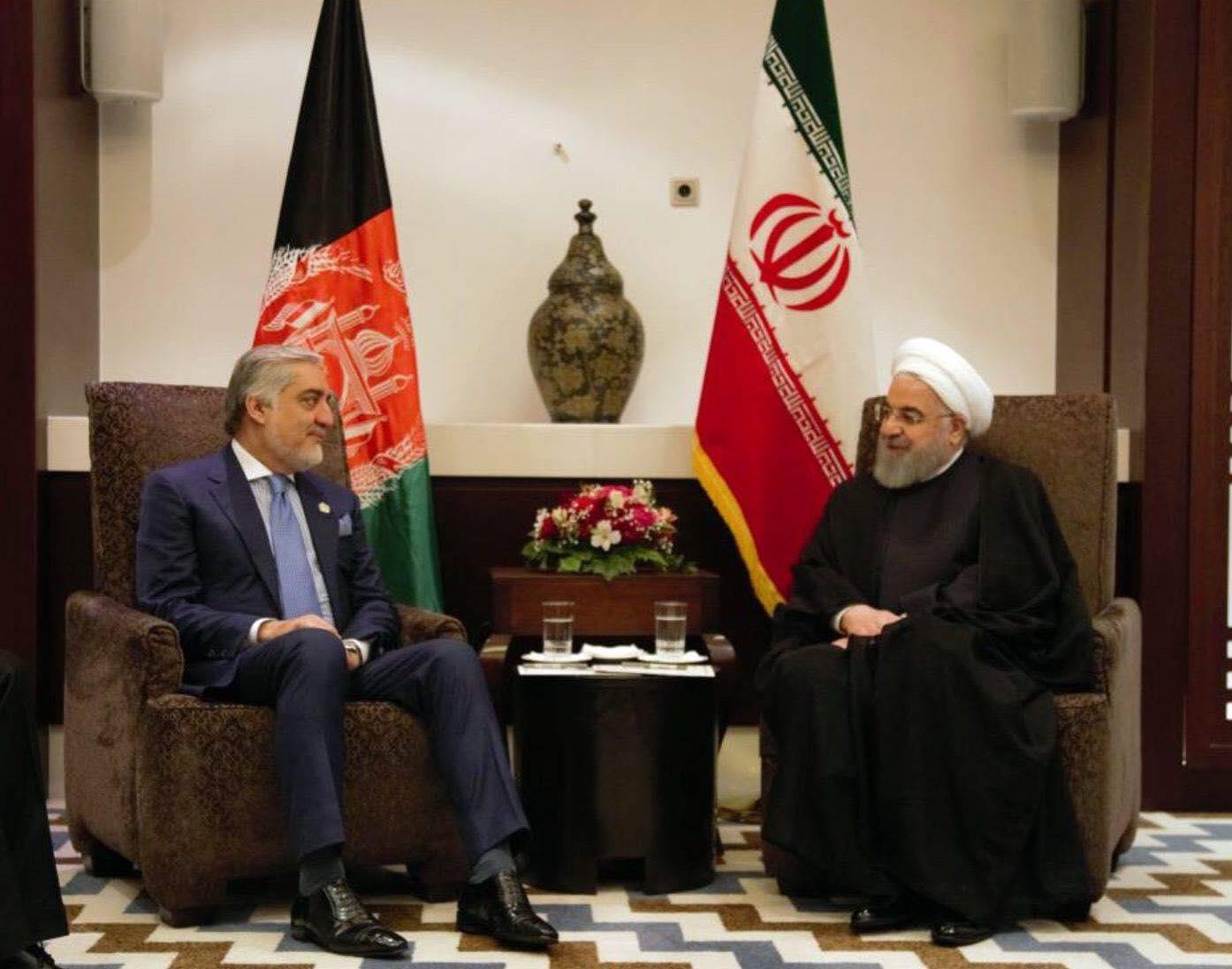 ملاقات جلالتمآب حسن روحانی، رئیس جمهور ایران