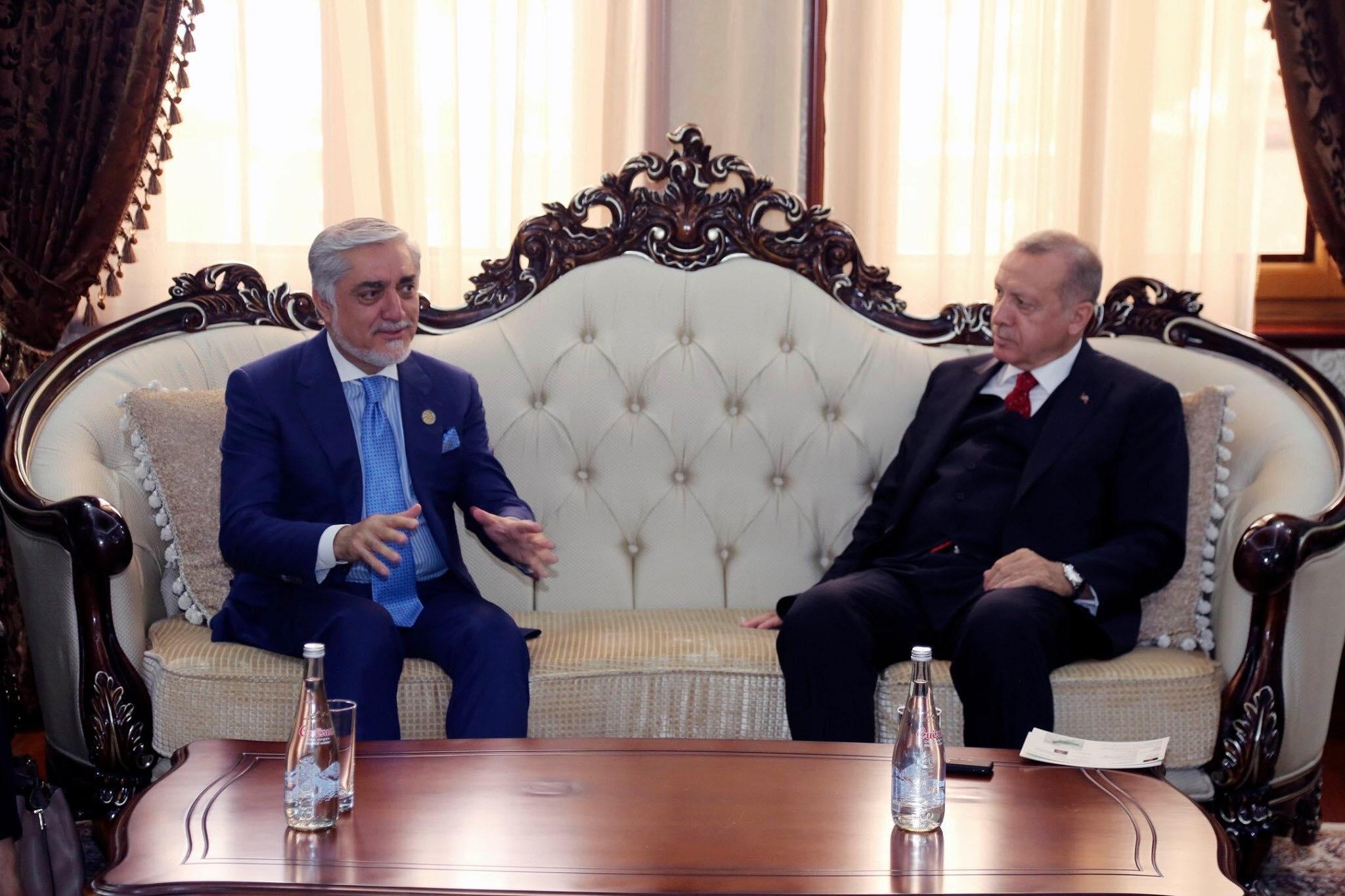 ملاقات با جلالتمآب رجب طیب اردوغان، رئیس جمهور ترکیه