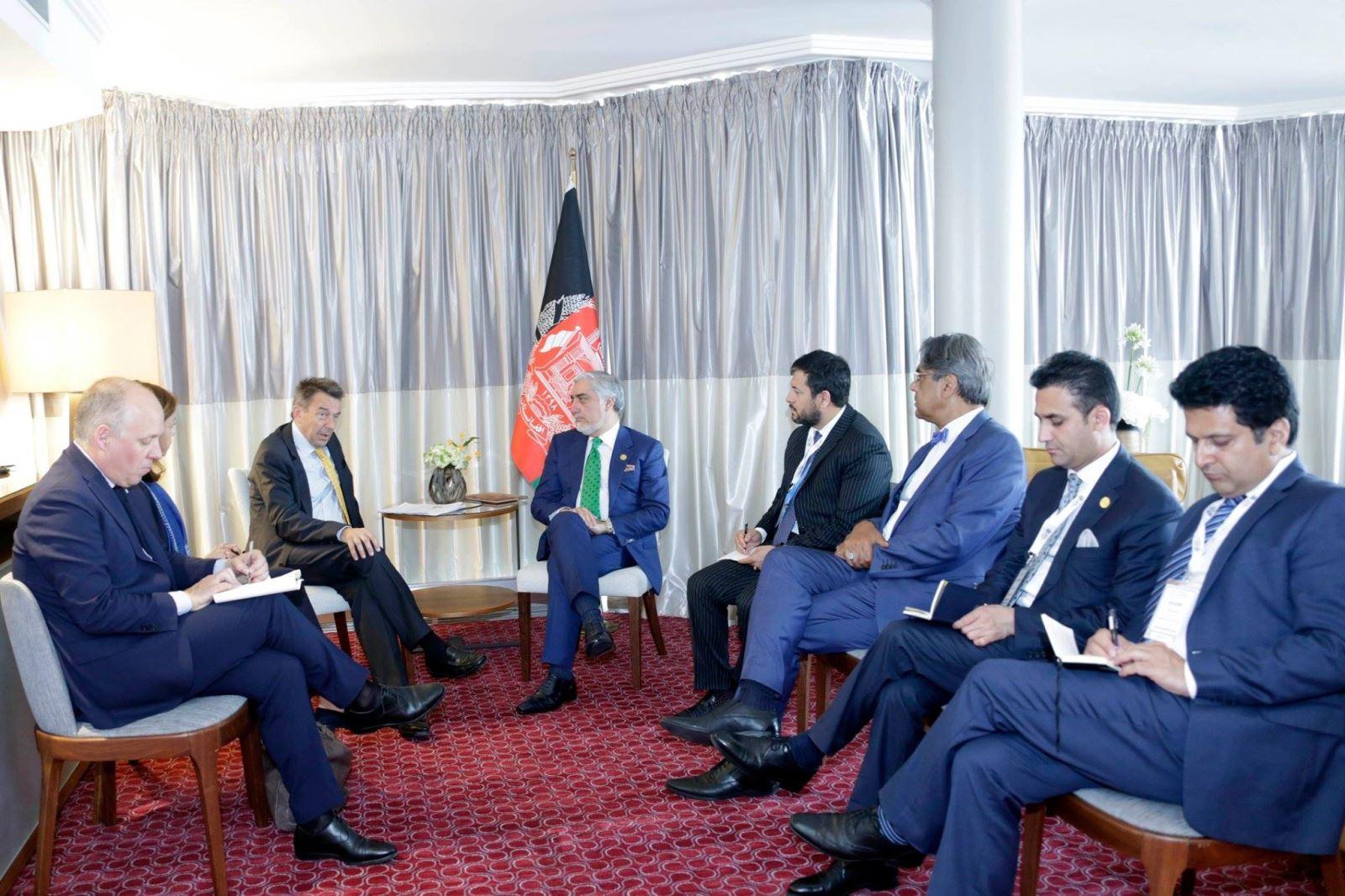 رییس عمومی صلیب سرخ در ملاقات با رییس اجراییه : افغانستان در اولویت برنامههای صلیب سرخ قراردارد