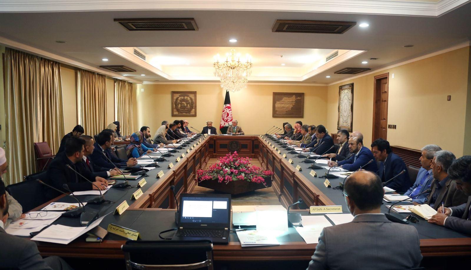 جلسه اجرائیوی مصئونیت غذایی شورای وزیران در قصر سپیدار برگزار شد