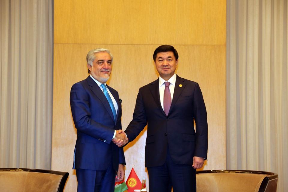 رییس اجراییه با صدراعظم قرغیزستان دیدار کرد