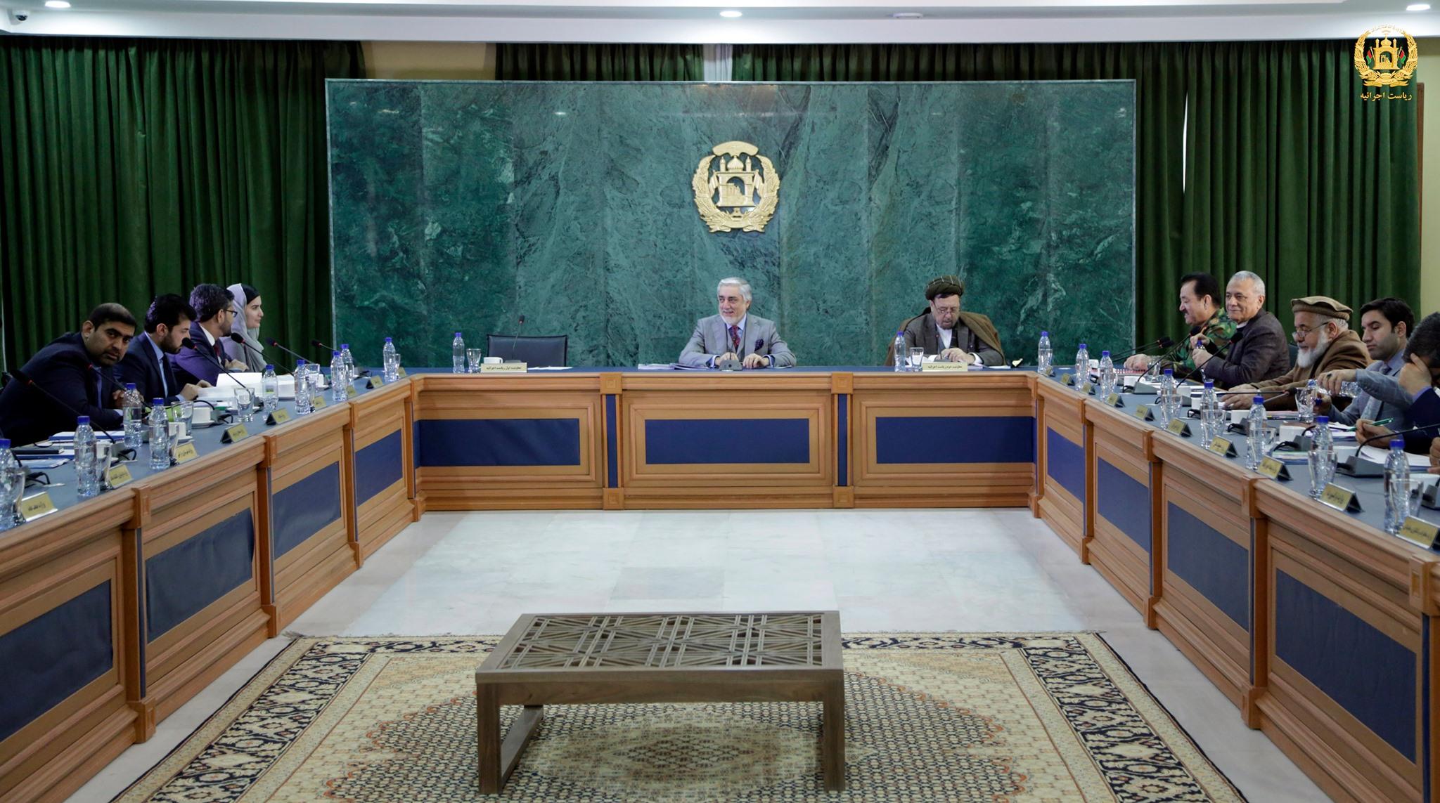 جلسه شورای وزیران برگزار گردید