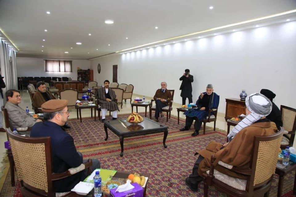 اعلامیۀ مشترک رهبران احزاب سیاسی و شخصیتهای ملی افغانستان پیرامون اعلام نتیجه تقلبي انتخابات ریاست جمهوری و روند صلح