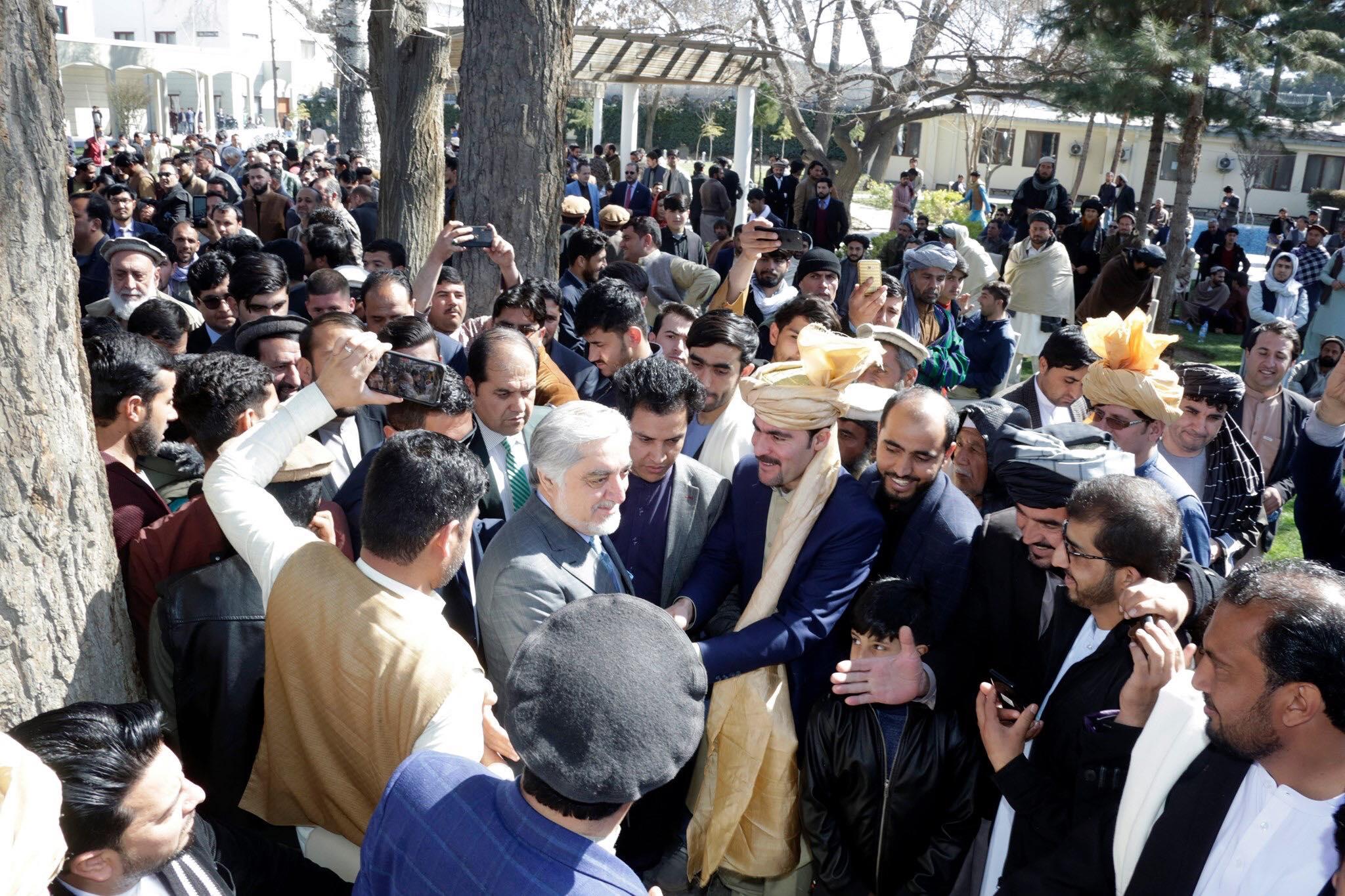 اعلام حمایت هزاران تن از اقوام مختلف پشتون از تشکیل حکومت همهشمول