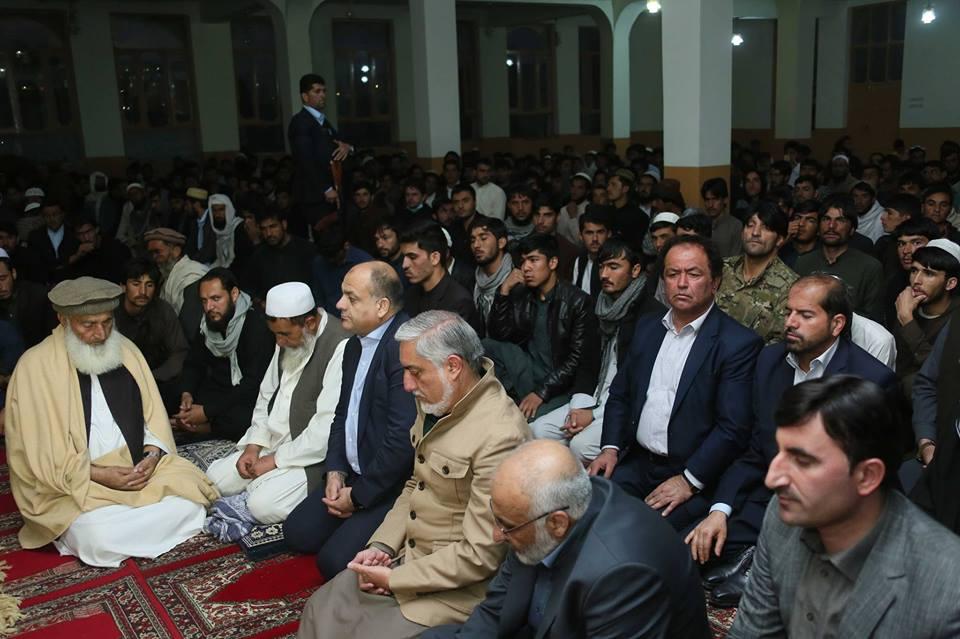 رییس اجراییه افغانستان در مسجد جامع شهر گردیز خطاب به مردم:  روحیه خلل ناپذیر شما در مبارزه علیه دهشتافگنی قابل ستایش است