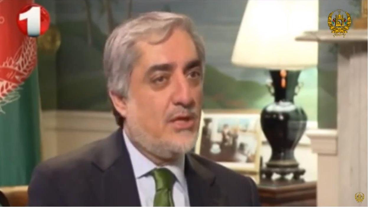 مصاحبه اختصاصی دکتور عبدالله عبدالله، رئیس اجرائیه جمهوری اسلامی افغانستان با تلویزیون یک در حاشیه سفر امریکا، مارچ، 2015