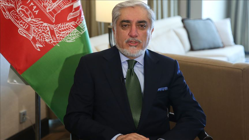 مصاحبه خبرگزاری آناتولی با دکتر عبدالله عبدالله رئيس اجرایی افغانستان 3