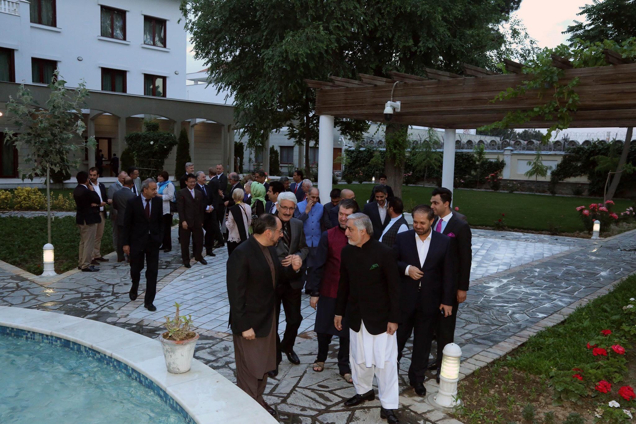 ضیافت افطاری به افتخار سفرا و روسای سازمان های بین المللی مقیم کابل