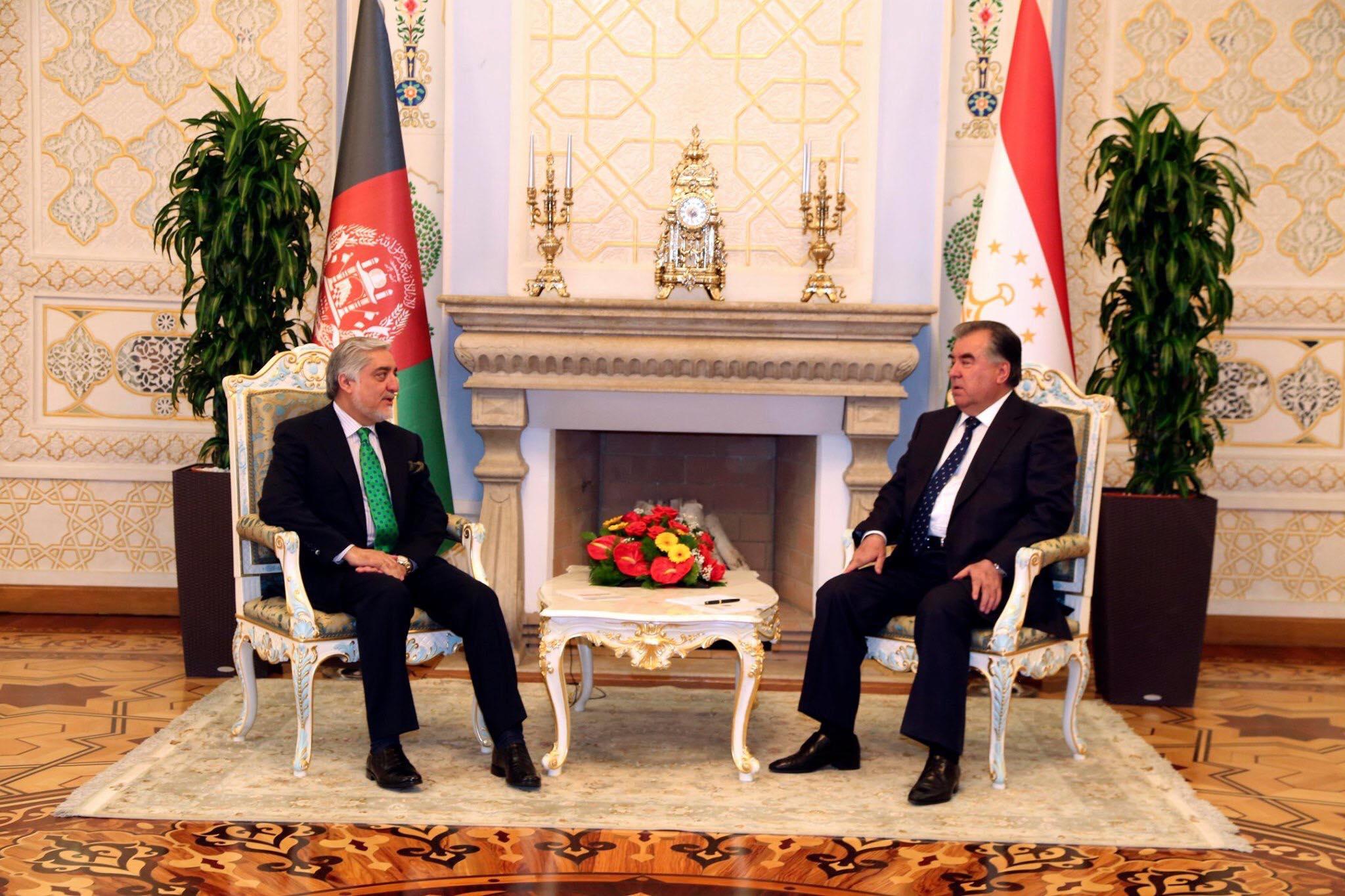 ديدار با جلالتمآب امام علی رحمان، رئیس جمهور تاجیکستان
