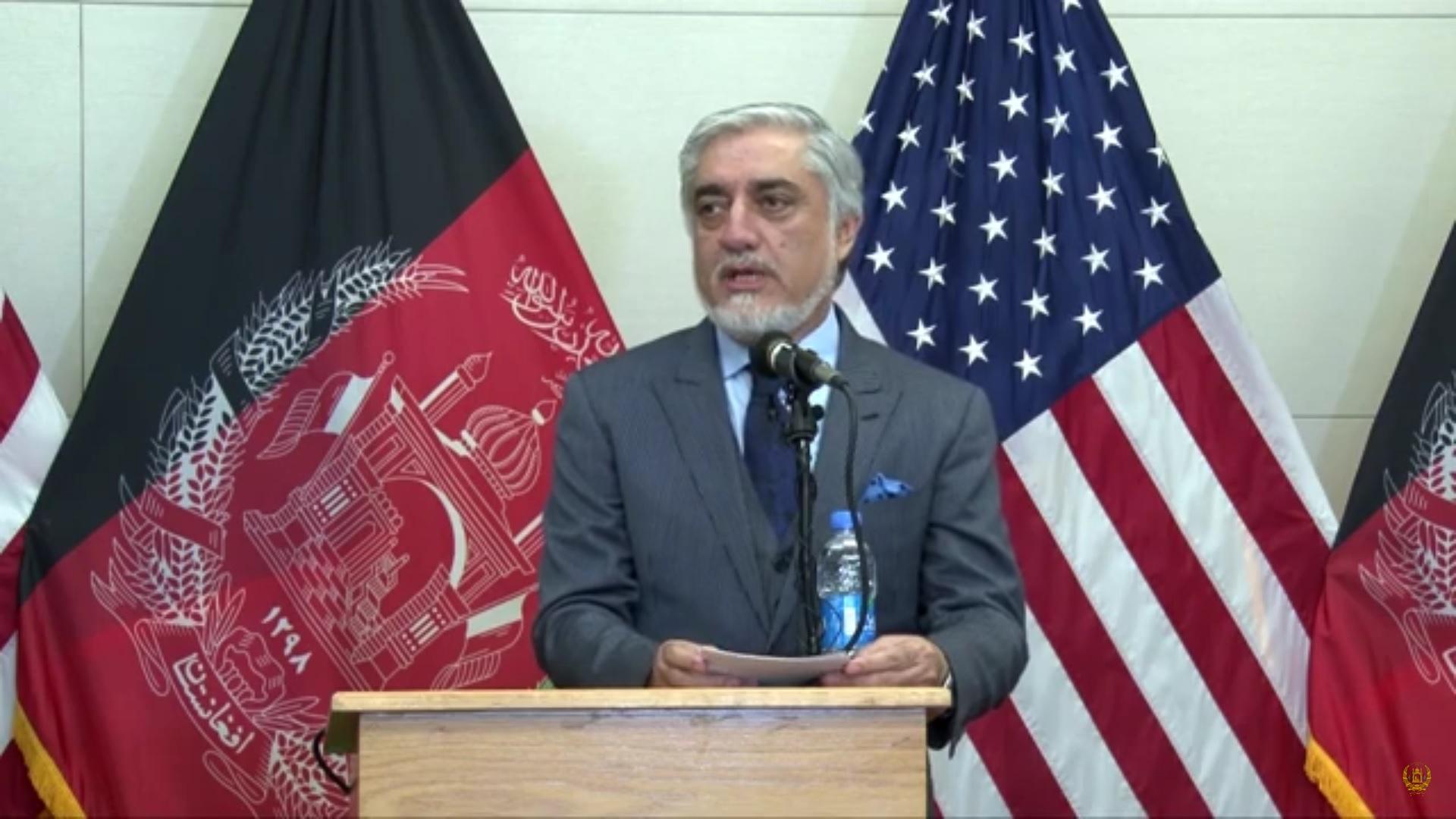 سخنرانی مقدماتی دکتور عبدالله عبدالله درسفارت امریکا به مناسبت بزرگداشت از روز جهانی پناهنده
