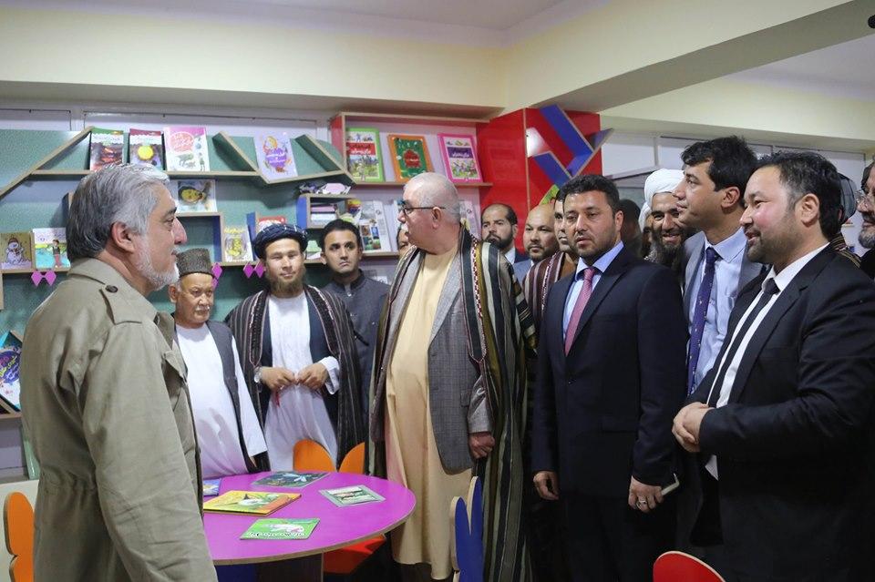 بنیاد فرهنگی سترجنرال عبدالرشید دوستم در شهر شبرغان توسط رییس اجراییه گشایش یافت