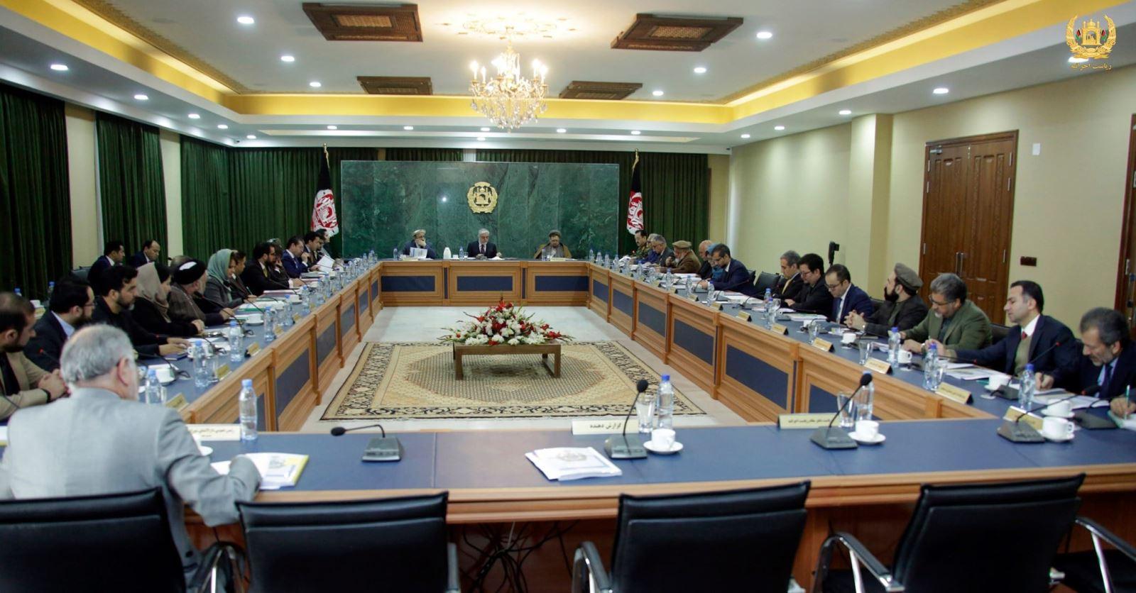 گزارش جلسۀ شورای وزیران جمهوری اسلامی افغانستان