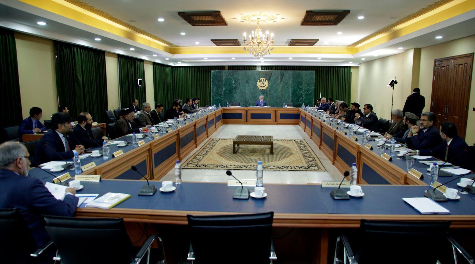 جلسۀ شورای وزیران برگزار شد