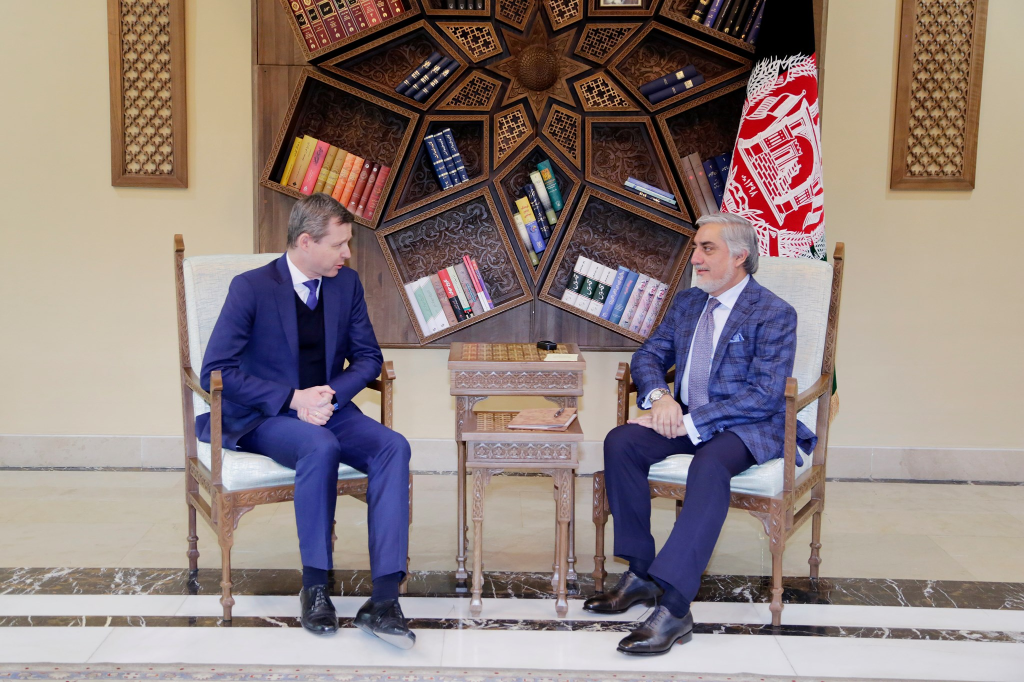 ملاقات با جناب توماس زیلبرهورن معاون وزیر دفاع جمهوری فدرال آلمان در امور پارلمانی